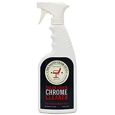 Salon Hydraulic Chair Chrome Cleaner - Eco Friendly Disinfectant by The Salon Chair Guys (16oz)