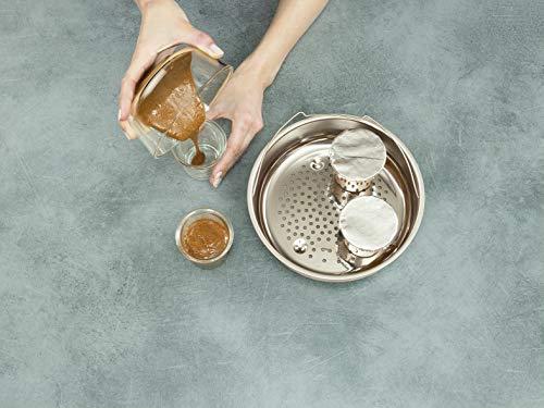طنجرة ضغط كليبسو مينت بيرفيكت من تيفال سعة 9 لتر مصنوعة من الستانلس ستيل بالوان متعددة - P4624931