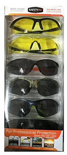 Velocity High Protection - Indoor/Outdoor Safety Glasses High Mass & High Velocity Impact Protection