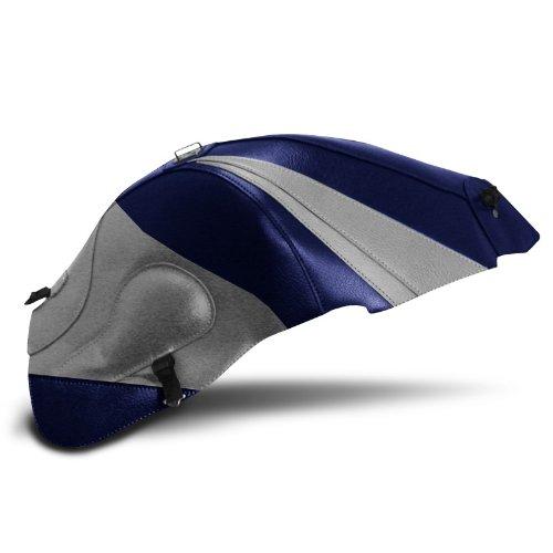 Cubre depositos Bagster Suzuki Hayabusa GSX-R 1300 2004 azul marino/gris claro