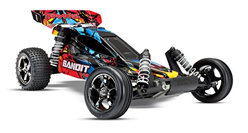Traxxas Bandit Vxl 2WD Off-Road Buggy, Rock n' Roll, 1/10 Scale (Digital Scale Magnum)