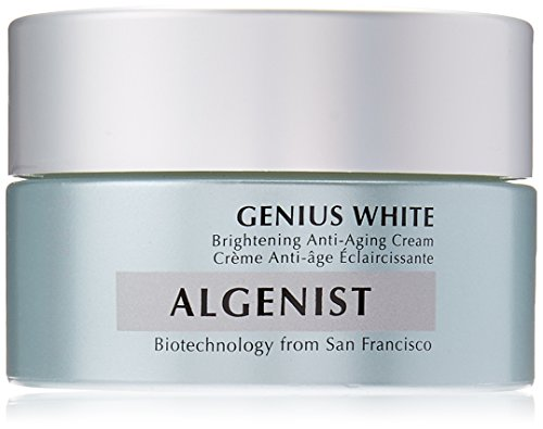 Algenist Genius White Brightening Anti-Aging Cream for Women, 2 Ounce