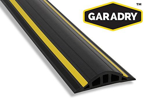 Garadry 1'' Garage Door Threshold Seal Kit RAMP Design 16'3'' by Garadry