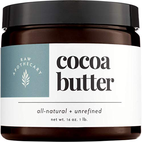 Raw Apothecary All-Natural Cocoa Butter (16 ounces)