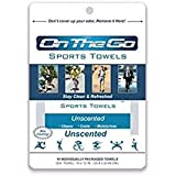 On The Go Towels Unscented Large Bath Wipes (10 Pack)