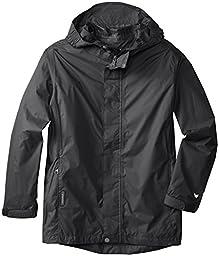 White Sierra Youth Trabagon Jacket, Black, X-Large
