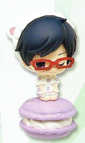 RARE!! Taito Kuji Prize Anime Free! Sweet macaron figure mascot Rei Ryugasaki