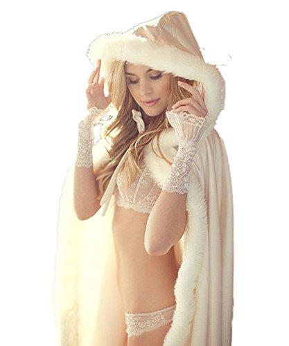 Ecru Manteau Unique Femme Cocogirls Taille Doudoune zUXqWw8