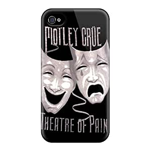 Durable Motley Crue Back Case/cover For Iphone 4/4s