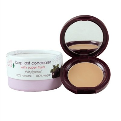 100% Pure Long Last Compact Concealers, Peach Bisque