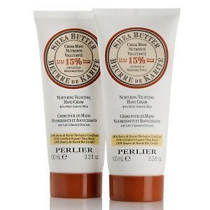 Perlier Shea Butter Hand Cream with Sweet Almond Milk