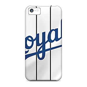 Hot Tpu Cover Case For Iphone/ 5c Case Cover Skin - Kansas City Royals