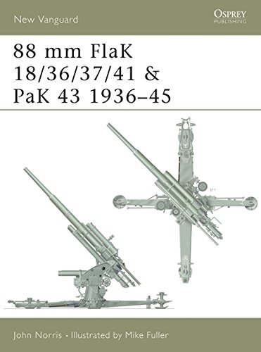 88 Mm Flak 18/36/37/41 And Pak 43 1936-45