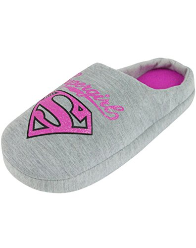 DC Comics Supergirl Glitter Women's Slippers