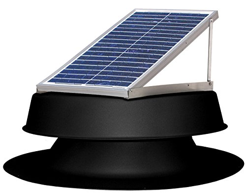 Natural Light Solar Roof Vents - 5
