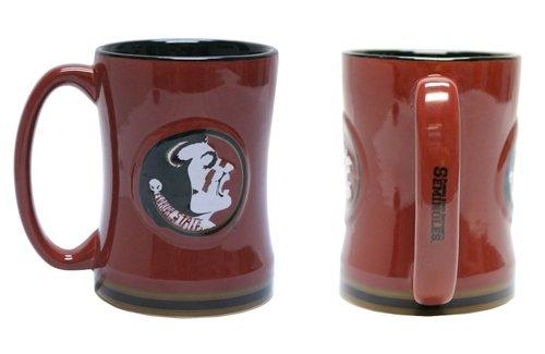 Hall of Fame Memorabilia Florida State Seminoles Coffee Mug - 15oz Sculpted ()