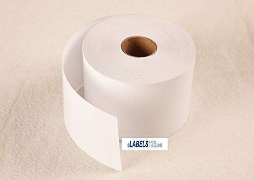 18 Rolls Address Labels 30270 Twin Turbo 400 Compatible w/ Dymo Printers Name Badge Tags Non-Adhesive Receipt Paper (Non Adhesive Name Badges)