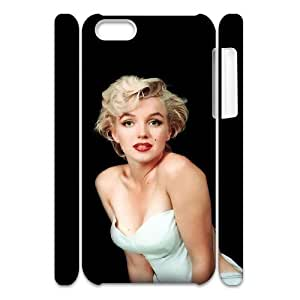 LJF phone case C-EUR Diy 3D Case Marilyn Monroe for iphone 6 4.7 inch