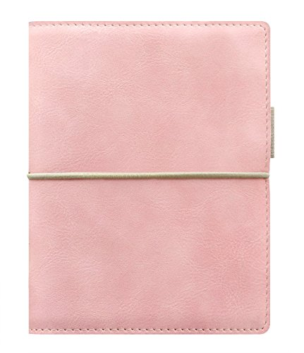 Filofax Domino Soft Organizer, Pocket, New 2017 Collection (Pastel Pink)