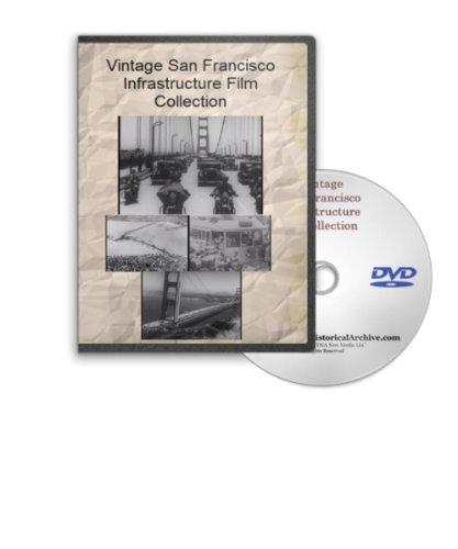(Vintage San Francisco Infrastructure Film Series - Golden Gate Bridge, Twin Peaks Tunnel, Bridging San Francisco Bay, Lincoln Highway Dedication, California State Highway 101 and More)