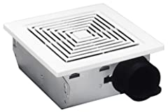 Make sure your home is comfortable with Broan's Ventilation Fan! This ventilation fan does it all - from eliminating humidity or stubborn odors such as tobacco or garlic, the exhaust fan has got it covered. This compact unit is designed to fi...