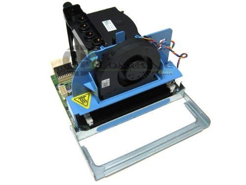 Dell Precision T5500 Workstation Second 2nd Processor CPU HeatSink + Riser Assembly F623F W715F W567F F306F (Renewed)