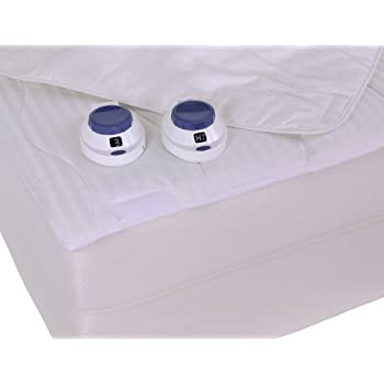 Amazon Com Serta 233 Thread Count Removable Top Low