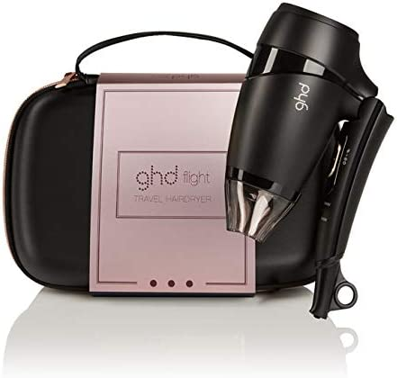 GHD – Caja serie limitada – Estuche para secador de pelo de viaje Flight + bolsa de almacenamiento: Amazon.es: Belleza