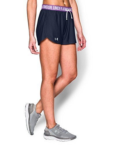 Under Armour Women's UA Play Up Shorts X-Large Midnight Navy