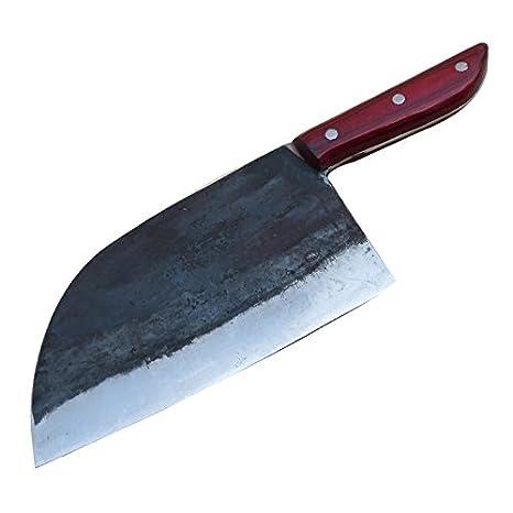 Amazon.com: Manual forjado cuchillo de cocina de chef ...