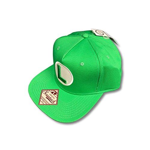 de verde Gorra Kulture Metro snapback Super Luigi Mario béisbol qzB0wZ7