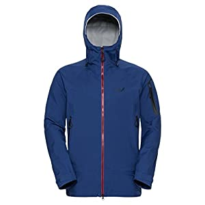 Jack Wolfskin Men's Exolight Slope Jacket, Royal Blue, Medium