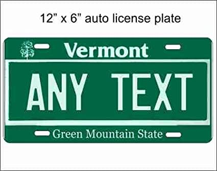 Vermont 1955 License Plate Personalized Custom Auto Bike Motorcycle Moped Tag
