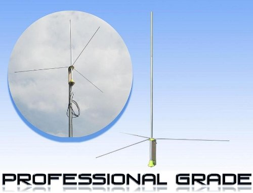 Fail-Safe Professional 1/2 Wave Ground Plane Antenna--Kit Includes 30' Cable by Fail-Safe