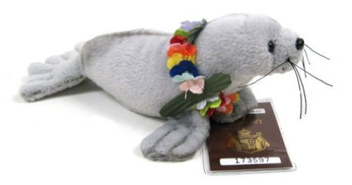 Islander Hawaiian Soft Plush Animal Umo the Monk Seal ()