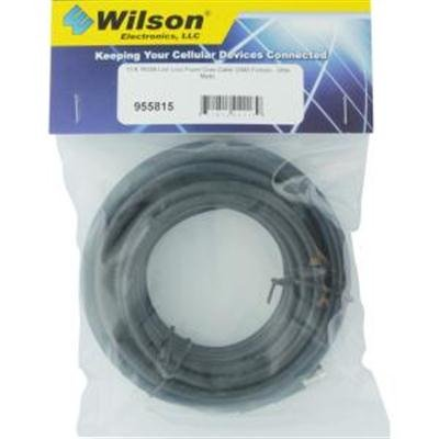 Wilson Electronics 15-Foot RG 58U Los Loss Foam Coax Extension Cable with SMA Female - SMA Male ()