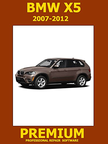 X5 Bmw Repair (BMW X5 Series Repair Software (DVD) 2007 2008 2009 2010 2011 2012)