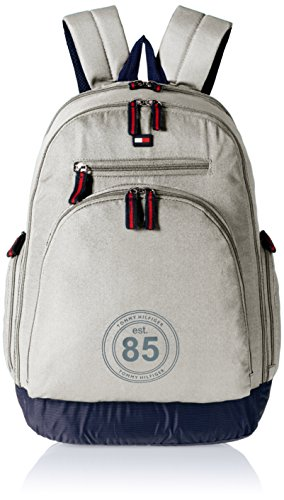 Tommy Hilfiger Biker Club – Daffodil 25 ltrs Grey Casual Backpack (TH/BIKOL07DAF)