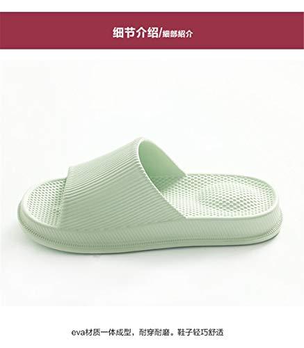 Ordinaire Antidérapantes Green Lxjld Eva De Bain Femmes Pantoufles Maison x4SwI8q0S