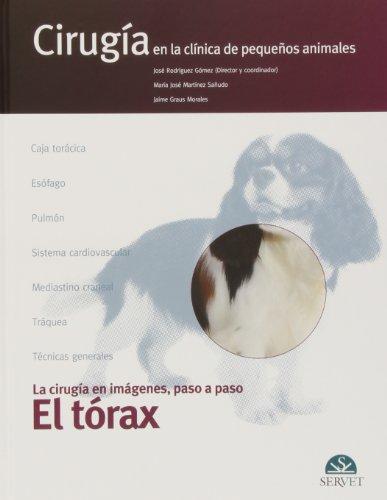 Descargar Libro Tórax, El. Cirugía En La Clínica De Pequeños Animales José Rodríguez Gómez (director Y Coordinador)
