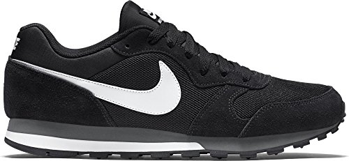 Nike Heren Md Runner 2 Schoen Zwart / Wit-antraciet