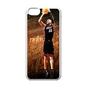 Allen Iverson iPhone 5c Cell Phone Case-White I4F8KW