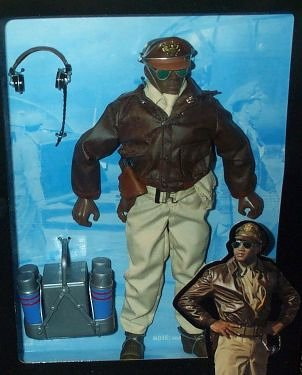 (G.I. Joe - 1996 - Classic Collection - WW II Forces Collection - Tuskegee Bomber Pilot - 12 Inch Action Figure - w/ Accessories - RARE - Out of Production - Limited Edition - Collectible)