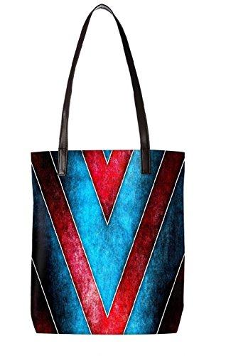 Snoogg Strandtasche, mehrfarbig (mehrfarbig) - LTR-BL-3121-ToteBag