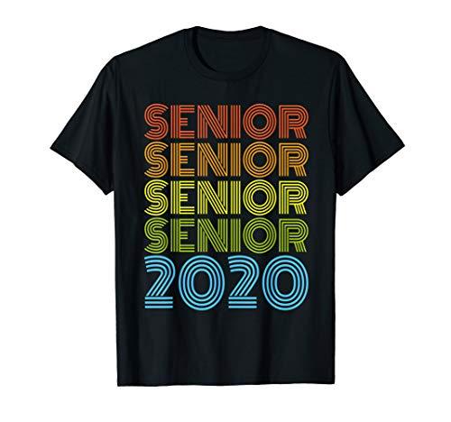 SENIOR CLASS 2020 SHIRT High School Graduation Gift T-Shirt (Dark Class Womens T-shirt)