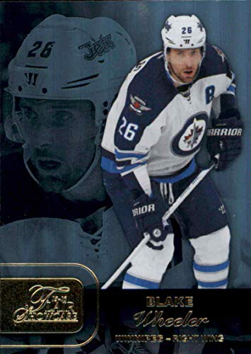(Hockey NHL 2015-16 Fleer Showcase Flair Showcase Row 1#4 Blake Wheeler #4 NM+ Winn Jets)