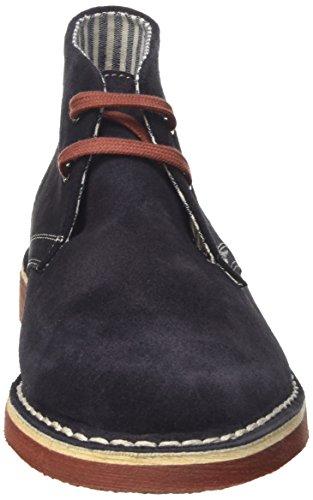 Lumberjack Gable - zapatos - Derby Hombre Blu (Navy Blue/Brick)