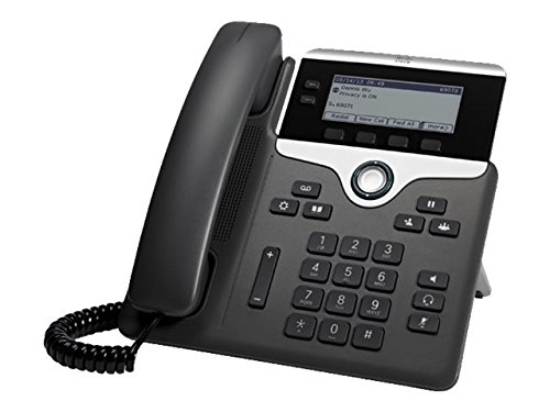 Cisco IP Phone CP-7821-K9 Charcoal by Cisco