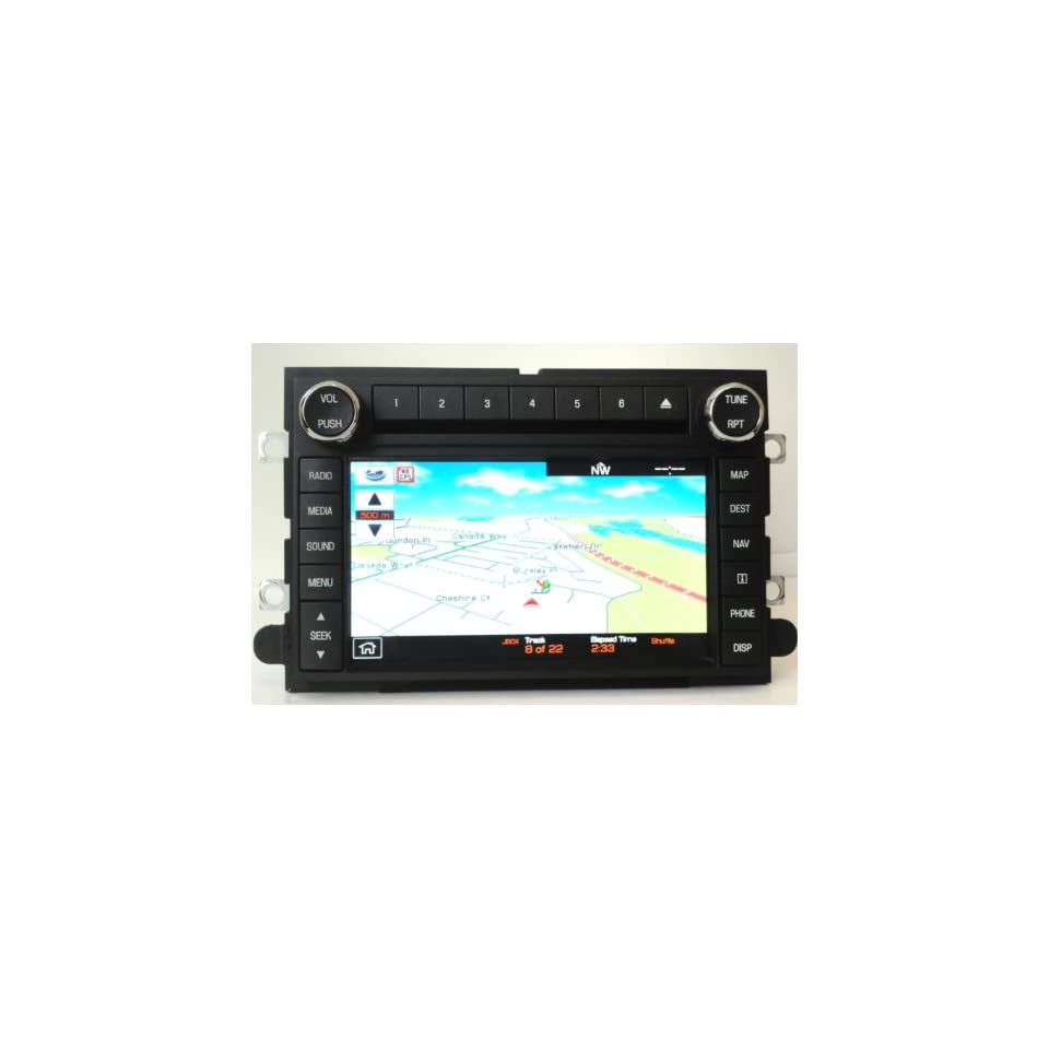 2009 2010 OEM Ford Lincoln Mercury Navigation Radio System GPS Unit