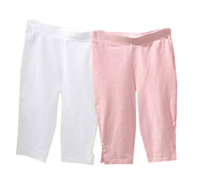 508589cf6 lupilu Girls' Leggings white pink 110 cm-116 cm: Amazon.co.uk: Clothing